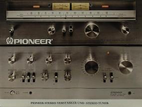 Pioneer Stereo-Verstärker & Stereo -Tuner Prospekt / Katalog