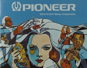 Pioneer 1973 / 1974 Hifi-Stereo Components Prospekt / Katalog
