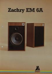 Zachry EM 6A Prospekt / Katalog