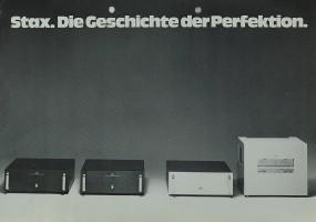 Stax Die Geschichte der Perfektion Prospekt / Katalog