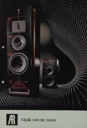 Acoustic Research AR - Musik wie nie zuvor Prospekt / Katalog