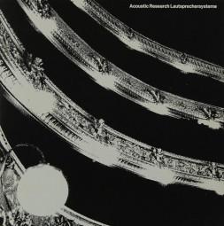 Acoustic Research Acoustic Research Lautsprechersysteme Prospekt / Katalog