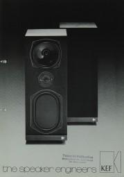 KEF The Speaker Engineers Prospekt / Katalog