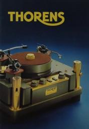 Thorens Produktübersicht Prospekt / Katalog
