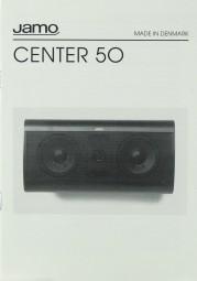 Jamo Center 50 Bedienungsanleitung