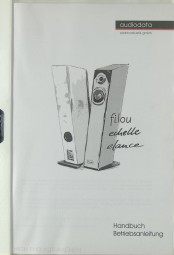 Audiodata Filou - Echelle / Elance Bedienungsanleitung