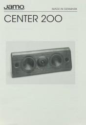 Jamo Center 200 Bedienungsanleitung