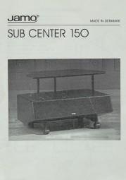Jamo Sub Center 150 Bedienungsanleitung
