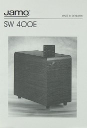 Jamo SW 400 E Bedienungsanleitung