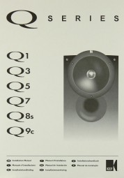 KEF Q Series Bedienungsanleitung