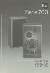 Dual Serie 700 (CL 710 / 720 / 730) Bedienungsanleitung
