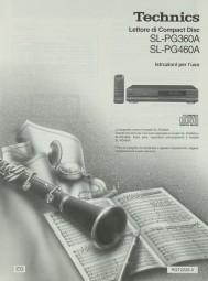 Technics SL-PG 360 A / SL-PG 460 A Bedienungsanleitung