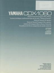 Yamaha CDX-1060 Bedienungsanleitung