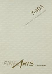 Fine Arts / Grundig T-903 Bedienungsanleitung