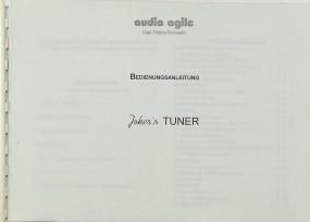 Audio Agile Joker´s Tuner Bedienungsanleitung