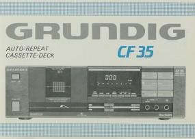 Grundig CF 35 Bedienungsanleitung