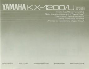 Yamaha KX-1200/U Bedienungsanleitung