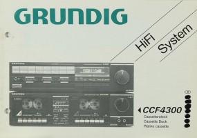 Grundig CCF 4300 Bedienungsanleitung