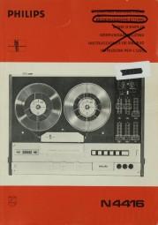 Philips N 4416 Bedienungsanleitung