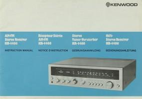 Kenwood KR-4400 Bedienungsanleitung