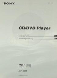 Sony DVP-S 435 Bedienungsanleitung