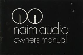 Naim Naim Audio Bedienungsanleitung
