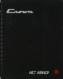 Crown IC-150 (Model IM-2) Bedienungsanleitung