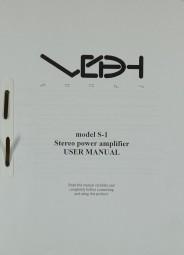 VDHArray Model S-1 Bedienungsanleitung