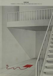 Wega Video- und Color TV-Programm 1982/83 Prospekt / Katalog