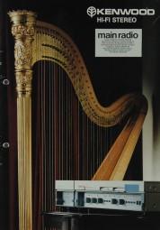 Kenwood Hifi Stereo Prospekt / Katalog