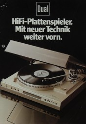 Dual Hifi Plattenspieler Prospekt / Katalog