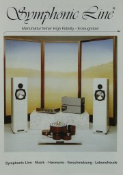 Symphonic Line Produktübersicht Prospekt / Katalog