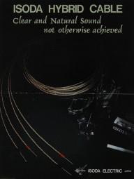 Isoda Electric Isoda Hybrid Cable Prospekt / Katalog