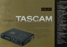 Tascam DA-P 1 Prospekt / Katalog