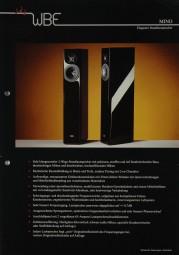 WBE Mino Prospekt / Katalog