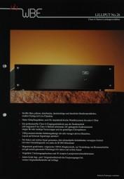 WBE Lilliput No. 26 Prospekt / Katalog