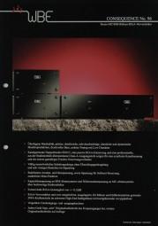 WBE Consequence No. 96 Prospekt / Katalog