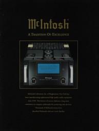McIntosh A Tradition of Excellence Prospekt / Katalog