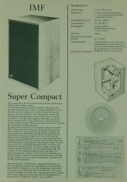 IMF Super Compact Prospekt / Katalog