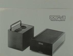 Octave Netzfilter Prospekt / Katalog