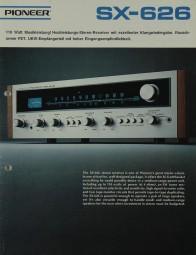 Pioneer SX-626 Prospekt / Katalog