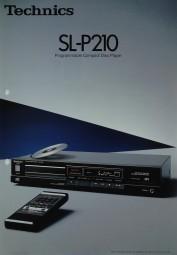 Technics SL-P 210 Prospekt / Katalog