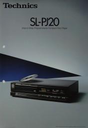 Technics SL-PJ 20 Prospekt / Katalog