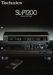 Technics SL-P 1200 Prospekt / Katalog
