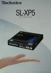 Technics SL-XP 5 Prospekt / Katalog
