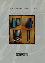 B & O Produktübersicht Prospekt / Katalog