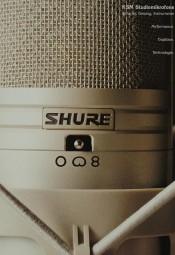 Shure KSM Studiomikrofone Prospekt / Katalog