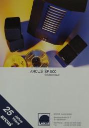 Arcus SF 500 Prospekt / Katalog