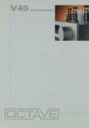 Ovtave V 40 Prospekt / Katalog