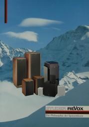 Revox Lautsprecher Prospekt / Katalog